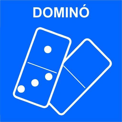 Imagem Dominó azul